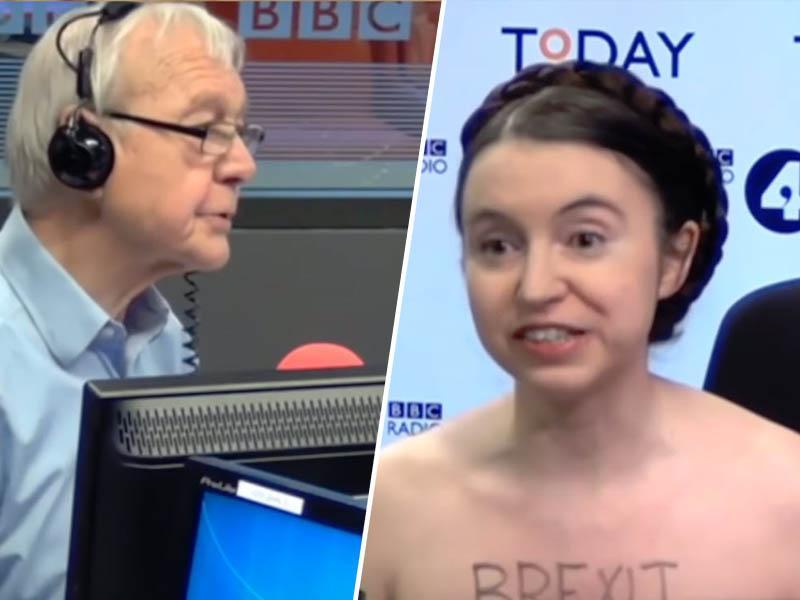 »O, ste gola!«: gostja prišla na radio, da bi jo intervjuvali, slekla jopič in - šokirala voditelja