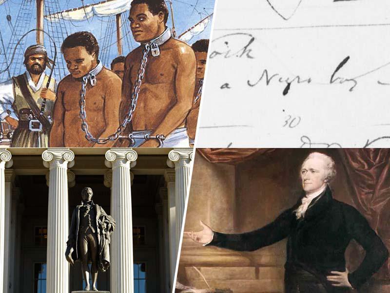 Presenečenje? Tudi eden od priljubljenih očetov ameriške ustave, je kupoval, prodajal in uporabljal - sužnje