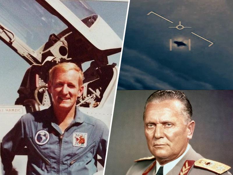 Titov pilot, polkovnik Hamzić, ki je nekoč na jugoslovanskem nebu lovil NLP-je, se je poslovil