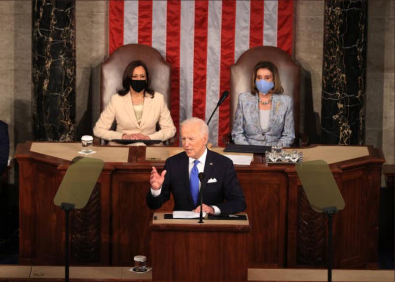 Harrisova in Pelosijeva zapisani v zgodovino ZDA: »Noben ameriški predsednik ni izrekel teh besed!«