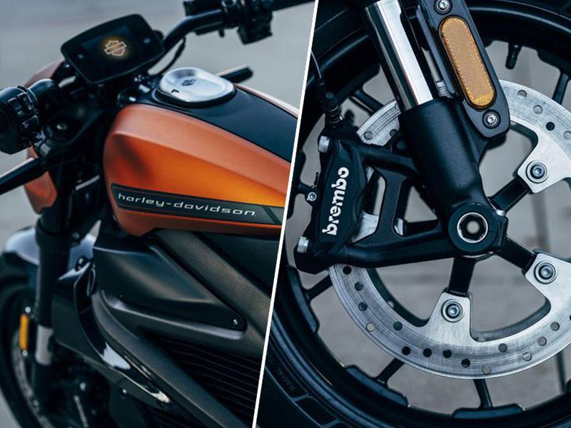 Harley Davidson in prvi serijski elektro motor