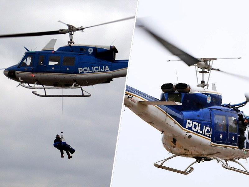 Slovenska policija zaradi neplačila servisa brez delujočega helikopterja; vsa flota prizemljena