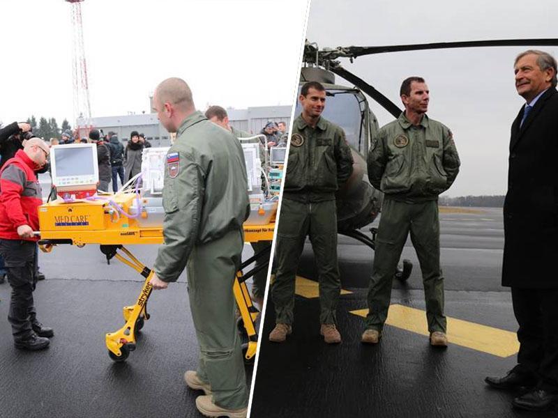 MORS: v nakup treh helikopterjev za potrebe helikopterskega reševanja