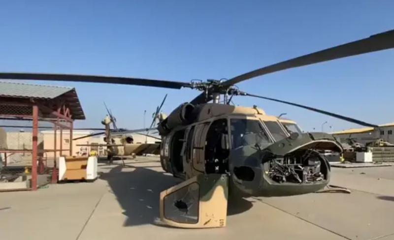 Talibani so jezni in se čutijo izdane, ker so jim Američani zapustili pokvarjena letala in helikopterje