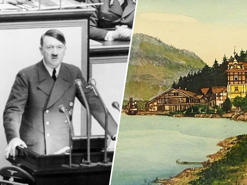 Na dražbi Hitlerjev stol s svastiko, predmeti in slike, najdražja z izklicno ceno 45.000 evrov