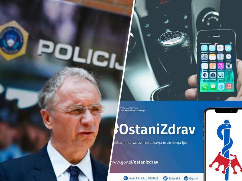 Hojs zavaja, policisti dobili nezakonita navodila, da naj kaznujejo vse brez naložene aplikacije #OstaniZdrav!