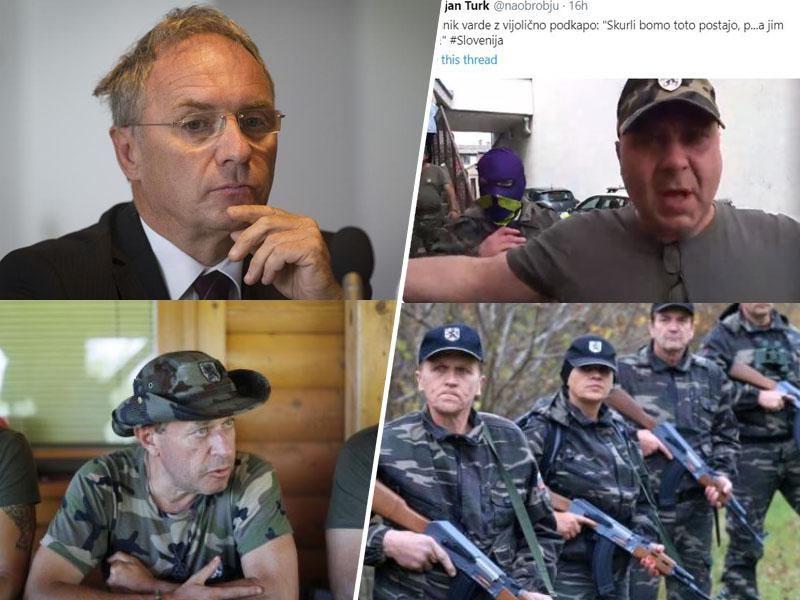 Legalizacija banditizma: Šiškovi vampasti razcapanci blokirali policijsko postajo, strahopetni Aleš Hojs pa molči!