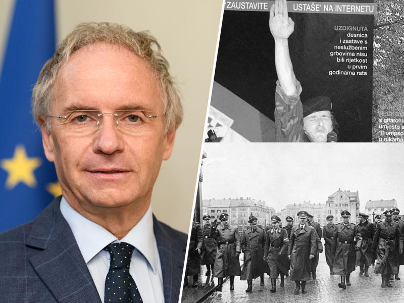 Najprej Hitler, sedaj Thompson: Poveličevalec ustašev bo zaradi Hojsa v Mariboru lahko slavil množične morilce