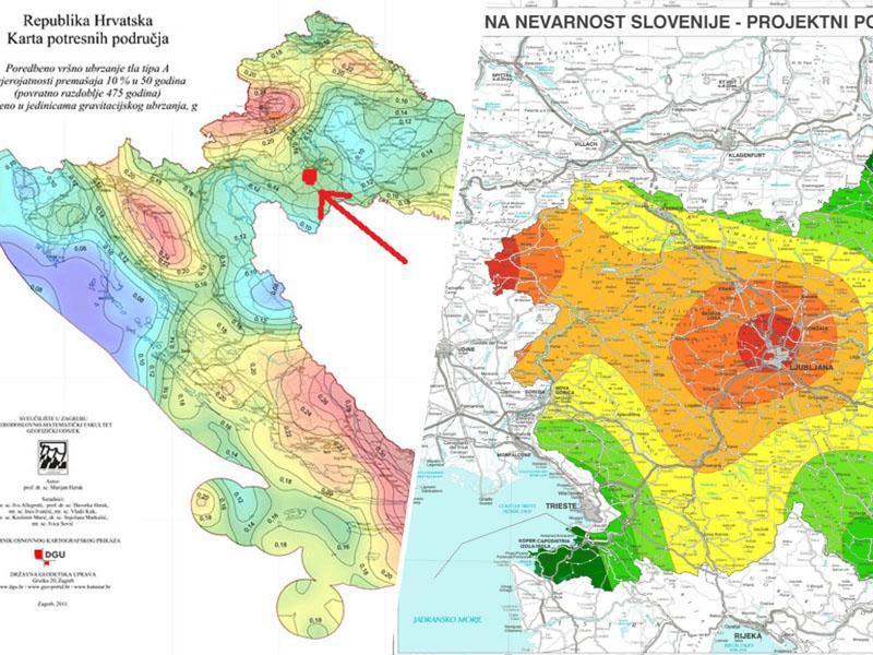 V potresu na Hrvaškem uničenih najmanj tisoč objektov, hudo potresno ogrožen je tudi velik del Slovenije