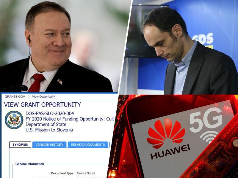 Ameriška podkupnina za 5G: ZDA ponujajo 100.000 dolarjev za vzpodbujanje »Ameriških vrednot« v Sloveniji