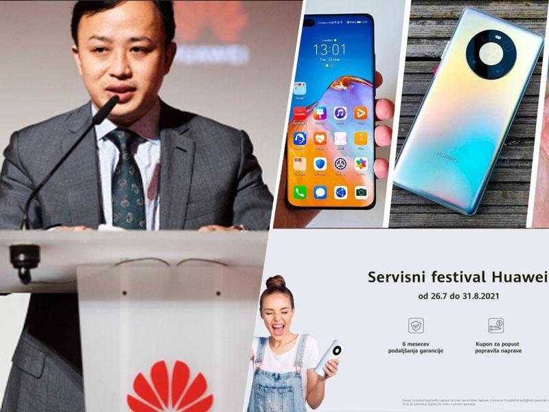 Vodilni mož Huawei v EU: »Zelo redke evropske države se s prepovedmi poslovanja igrajo politične igrice!«