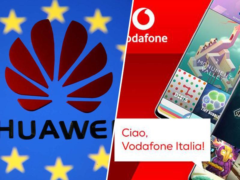 Huawei bo z opremo 5G oskrbel podjetje Vodafone Italia