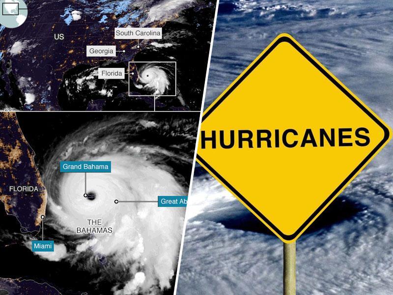 Pošastni orkan pete stopnje opustošil Bahame, veter divjal z 350 kilometri na uro