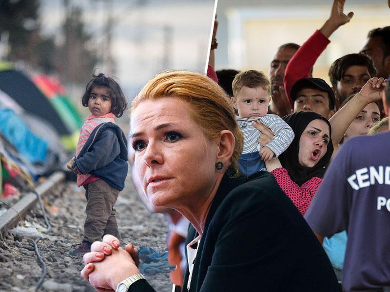 Nekdanja danska ministrica za integracije obtožena zaradi ločevanja družin prosilcev za azil