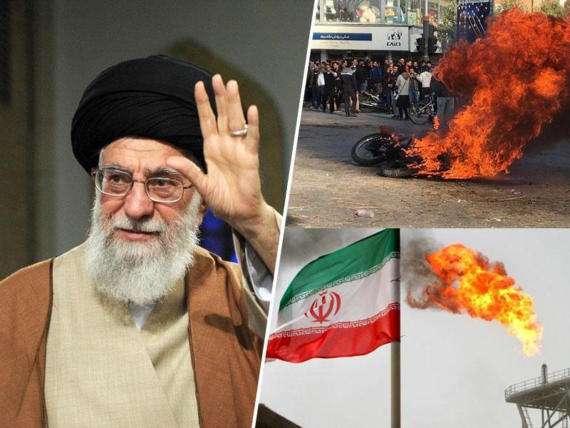 Vrhovni vodja Irana podprl dvig cen goriva, protesti pahnili državo v kaos