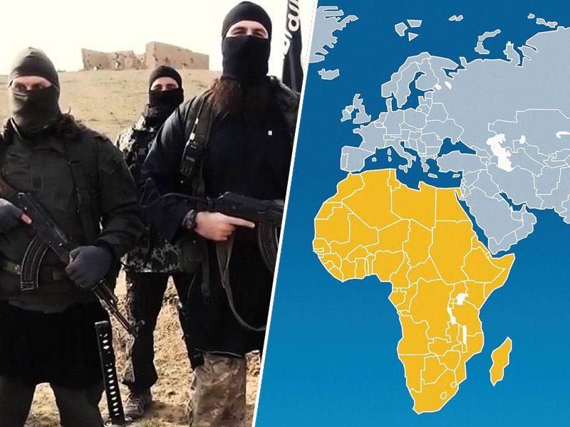 Islamska država se seli v Afriko