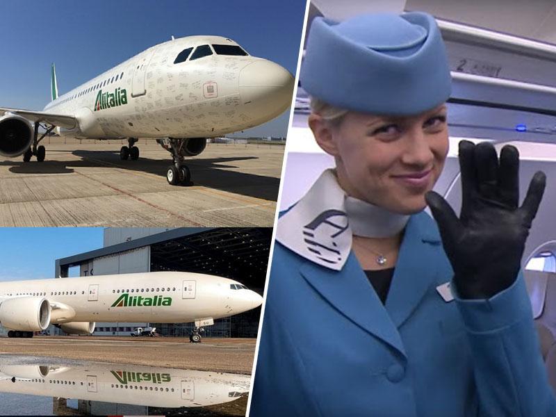 V Italiji pripravljajo naslednika Alitalie, v Sloveniji Adrio Airways brez naslednika razprodali za nič