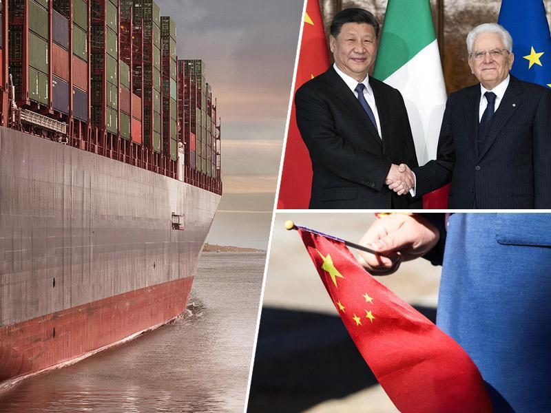 Italija Kitajski kljub kritikam in pritiskom ZDA na stežaj odpira vstopna vrata v Evropo