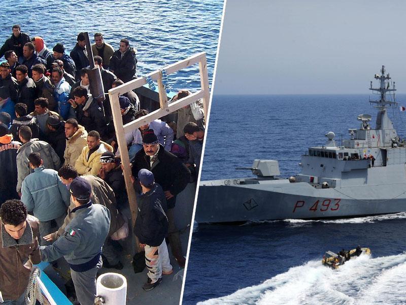 »Danes je praznik, ne delamo!« EU begunce v težavah sredi Sredozemlja prepustila Libijcem, ti pa - usodi