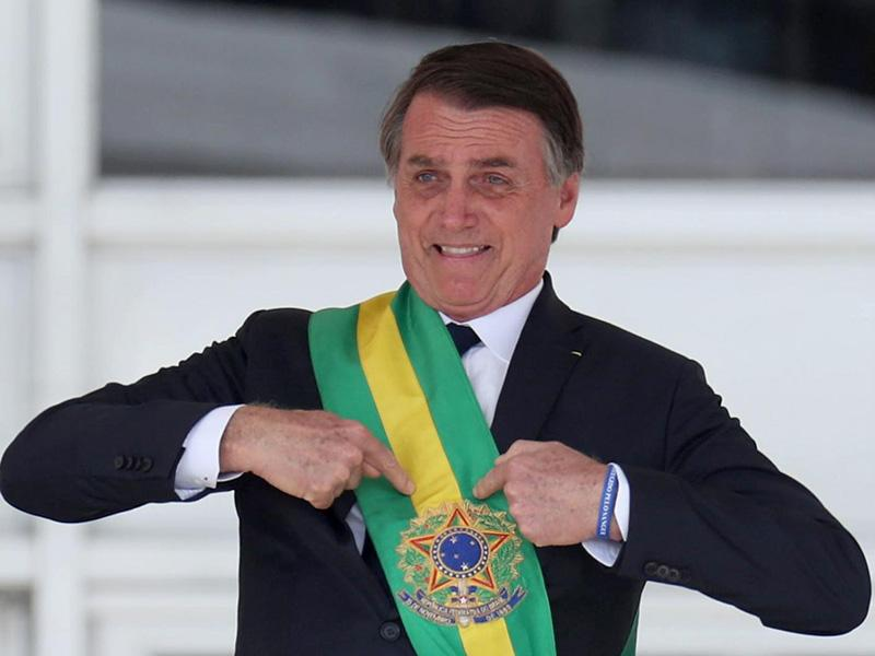 Venezuelski predsednik Maduro o brazilskem kolegu: »Bolsonaro je Hitler«