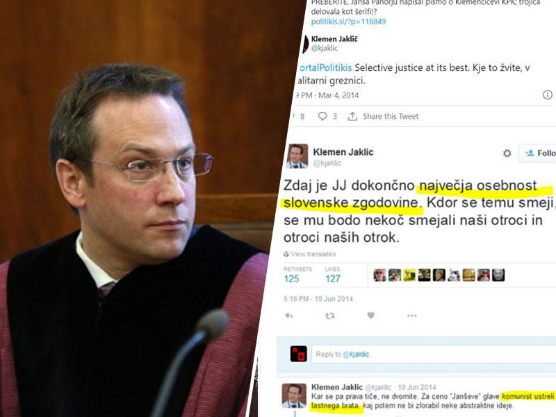 Farsa: Ustavno sodišče Jakliča ni izločilo iz odločanja o ukrepih Janševe vlade, verjelo mu je na »častno pionirsko«