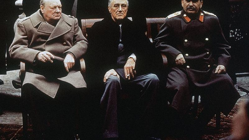 Pomembna obletnica: mineva 75 let od zgodovinskega odločanja »velikih treh« o usodi našega sveta na Jalti