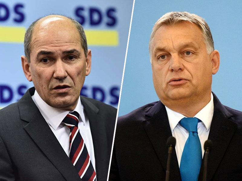 »Orban širi lovke v tujino in gradi veliko Madžarsko. Vprašanje je, a bo Janša gradil veliko Slovenijo ali pa veliko Madžarsko«