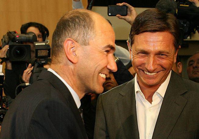 Pahor zaradi obiska vrtca od Janše prejel vzgojno in verbalno zaušnico