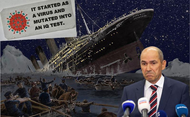 Vlada sabotira lastne sklepe in daje potuho anticepilcem, Slovenija drvi proti jesenskemu brodolomu