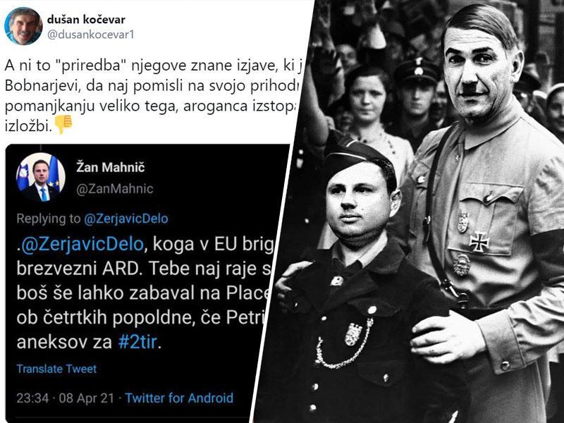 Žan Mahnič resno ogroža raziskovalno novinarstvo: Dokaze o korumpiranosti vlade ponuja kar na Twitterju!