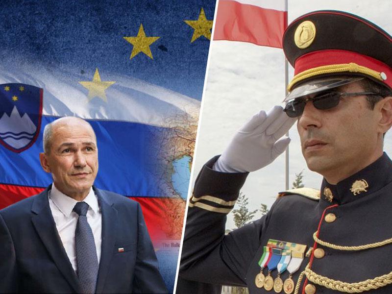 Zakaj Janša podpira stalinistične teroriste, ki ne smejo razmišljati o seksu in so zatočišče našli v Albaniji?