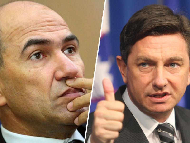 Protestniki opozarjajo: »Borut Pahor je povsem izgubil stik z realnostjo. Ne potrebujemo klovna, ne potrebujemo pajaca!«