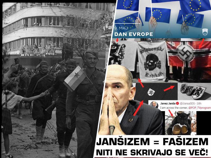 »Vlada Republike Slovenije slavi dan Evrope, obenem pa negira njene ideale in vrednote«