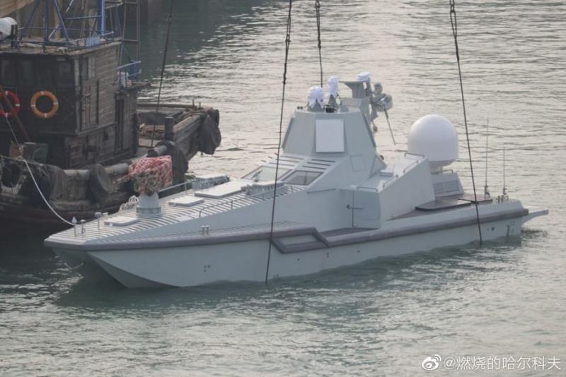 Napad volčjega krdela kar sredi morja  – Kitajska splovila prvo »robotsko ubijalsko ladjo«