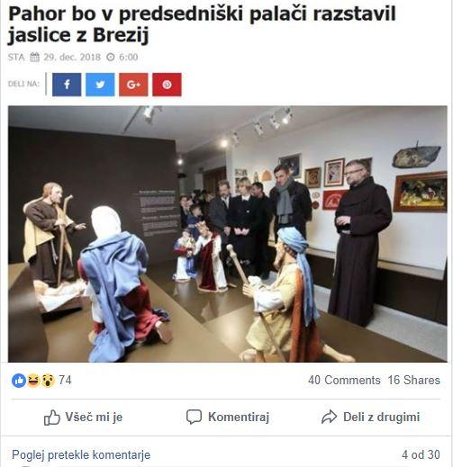 Had: Bo naslednje leto v predsedniški palači Borut Pahor v vlogi Ježuščka?