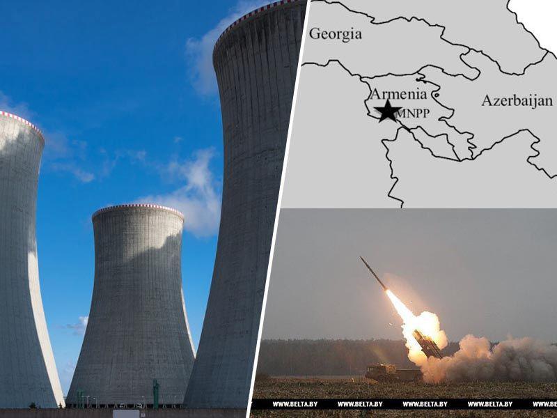 Novi Černobil? Azerbajdžan grozi, da bo z raketami napadel jedrsko elektrarno v Armeniji