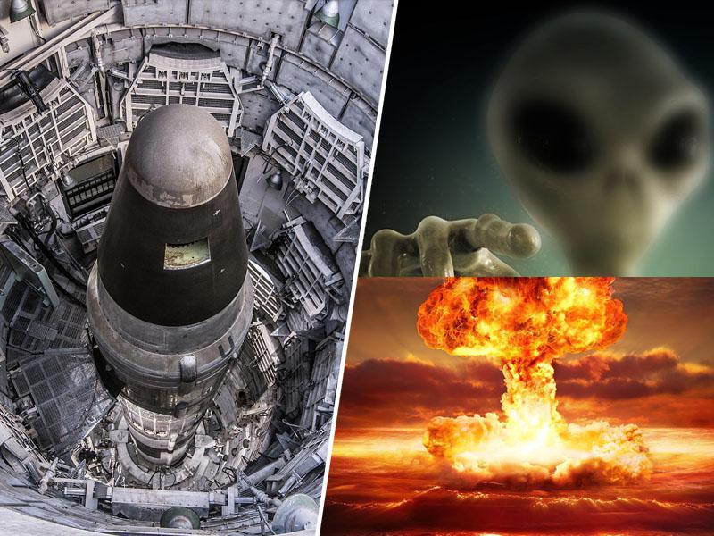 »Nezemljani so nam onesposobili jedrsko orožje,« opozarjajo nekdanji častniki ameriških letalskih sil