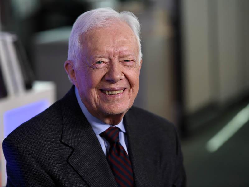 Nekdanjega predsednika ZDA Jimmyja Carterja v Kanadi zdravili zaradi dehidracije