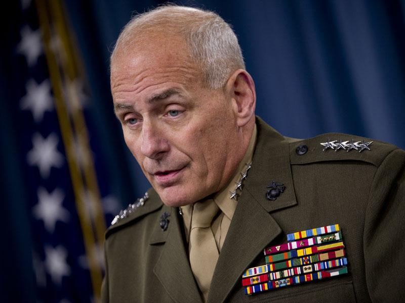 Trump za ministra za domovinsko varnost imenoval Johna Kellyja