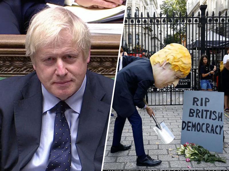 Boris Johnson ima s pomivanjem tal enake probleme kot z brexitom