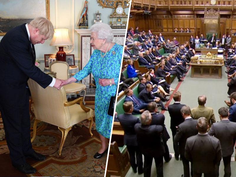 Johnson se je zaradi zavajanja opravičil britanski kraljici. Sledi nezaupnica?