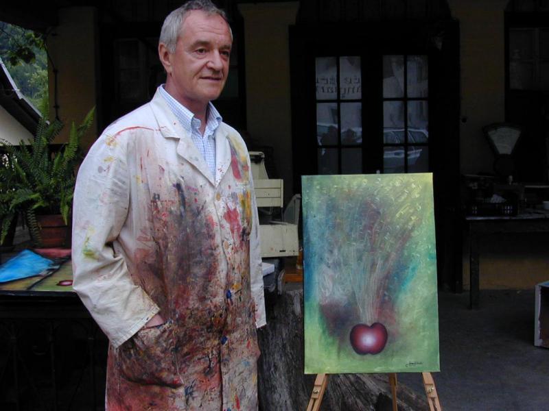 Umrl je slikar Jure Cekuta, ki je zbolel