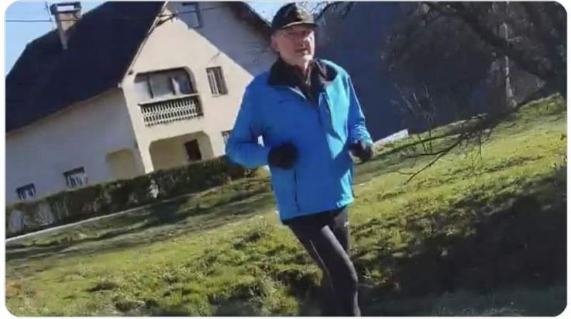 Jelko Kacin ujet na trimčkanju brez maske - bo v državno blagajno prispeval najmanj 400 evrov?