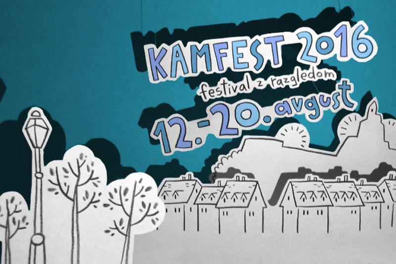 Ulice Kamnika bo zasedel 13. Kamfest