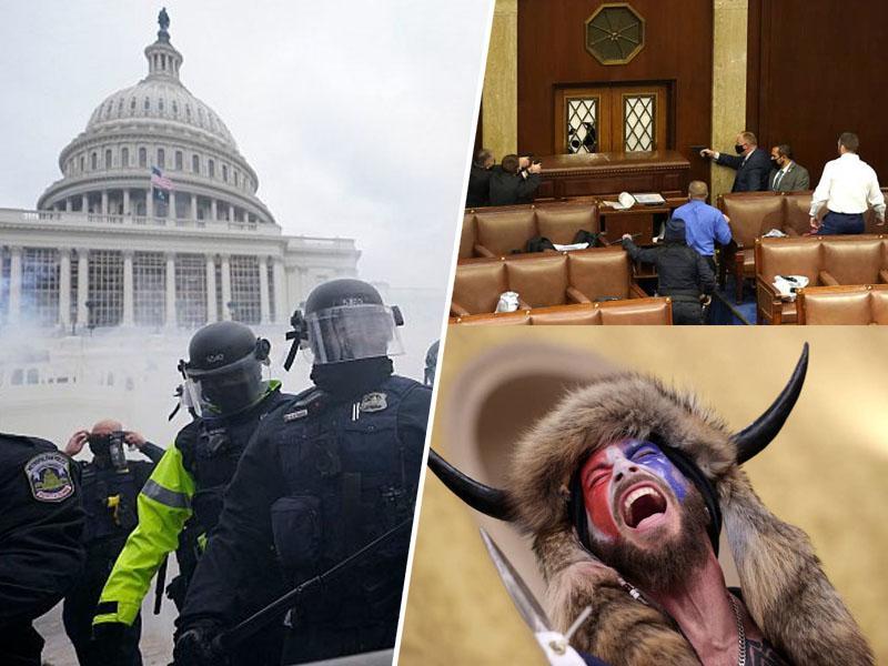 Kaos v ZDA: »To je državni udar! ZDA so postale pravi Balkan in od danes uradno država tretjega sveta!«