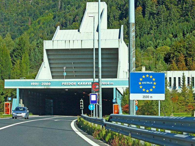 Za gradnjo druge cevi avtocestnega predora Karavanke izbrano turško podjetje
