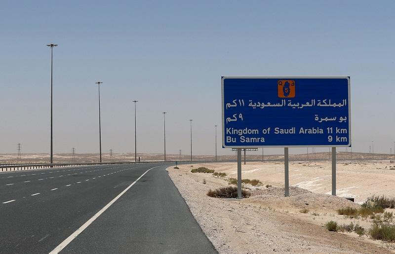 Savdska Arabija naj bi napredovala z načrti za prekop na meji s Katarjem