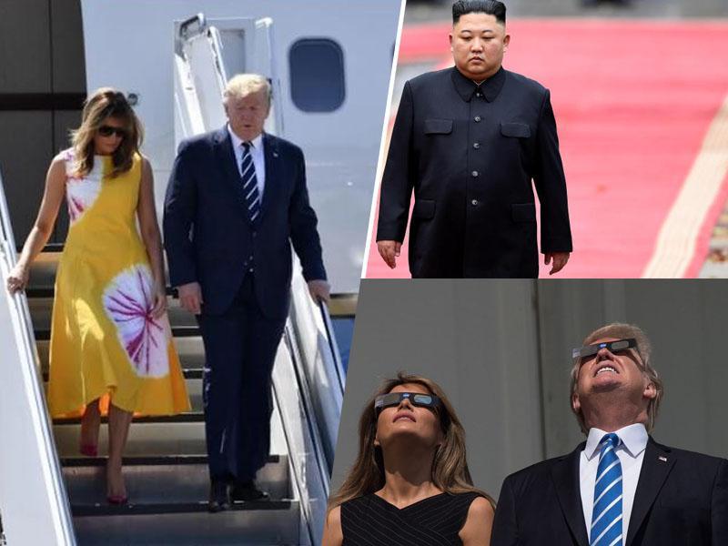 Trump: »Melania zelo dobro pozna Kima«; Bela hiša: »Ne, ni tako mislil!«
