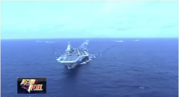 Zverina vzhodnega morja: tako je videti, ko se prva kitajska letalonosilka poda v akcijo