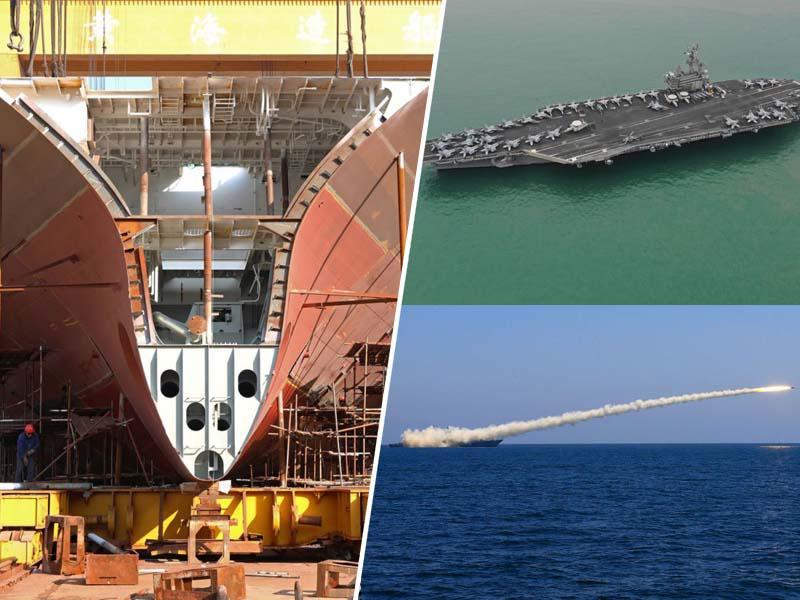Nevarnost: Kitajska ima že več vojaških ladij, v vojni pa jih lahko gradi bistveno hitreje, kot ZDA
